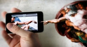 finger of god to smartphone