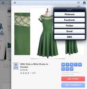 iPad sharing feature