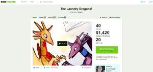 Kickstarter Dragons Page