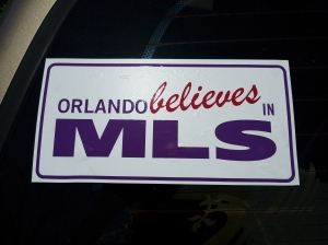 Orlando Believes in MLS
