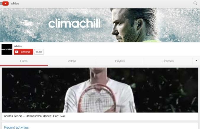 Adidas YouTube