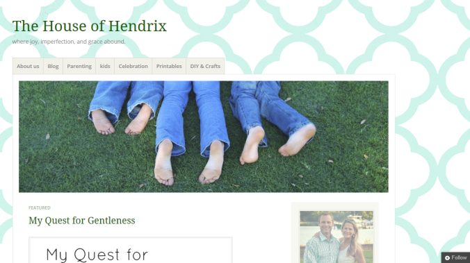house of hendrix blog