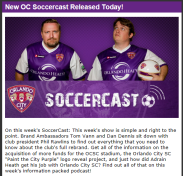 Orlando City Soccer Soccercast