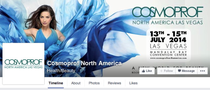 cosmoprof Facebook