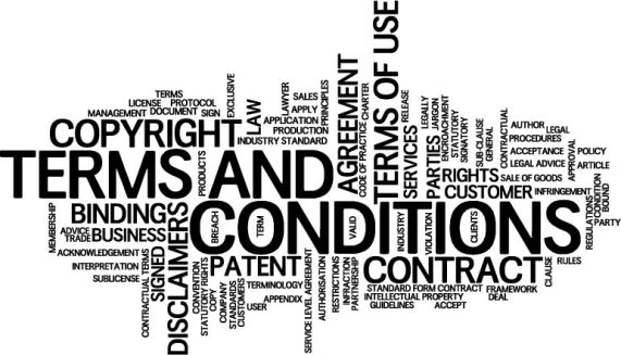 Terms and Conditions wordle